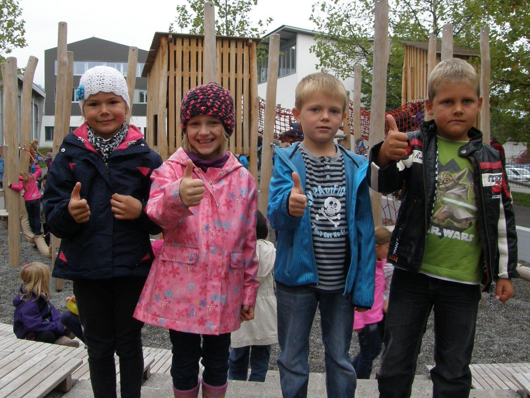Die Hörbranzer Kinder freuen sich über das neue Freizeitangebot.