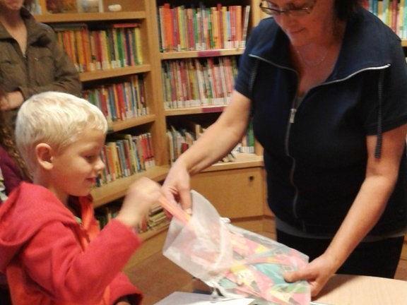 Am vergangen Dienstag wurden in der Bücherei Batschuns die Gewinner  gezogen.