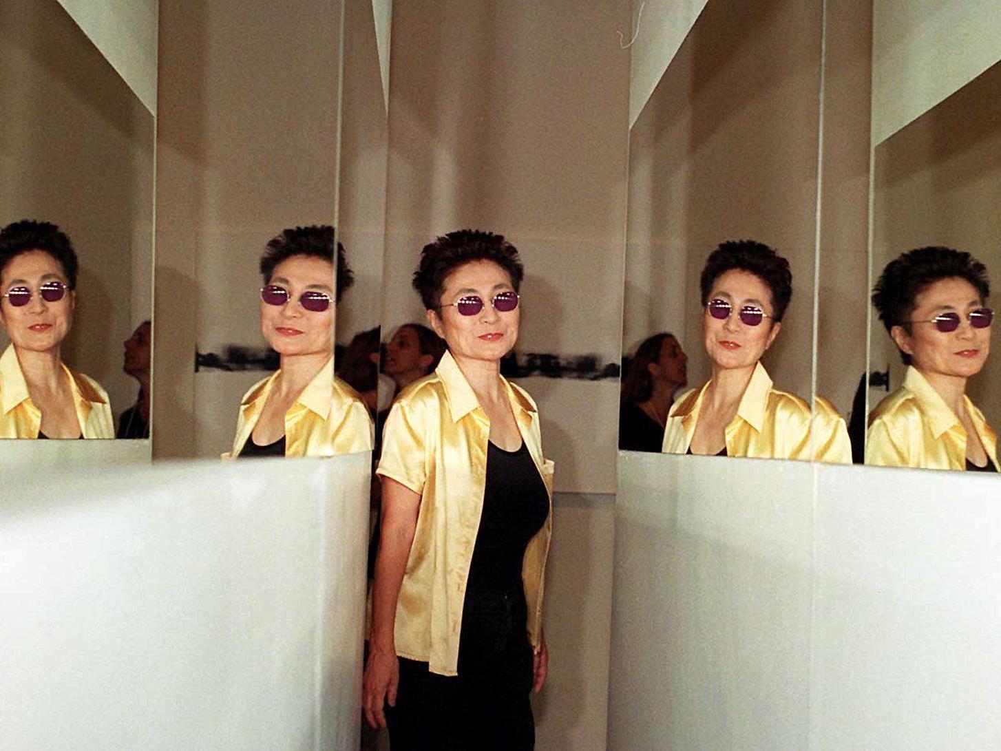 Yoko Ono erhält den Theodor-Wanner-Preis für ihr Friedensengagement.