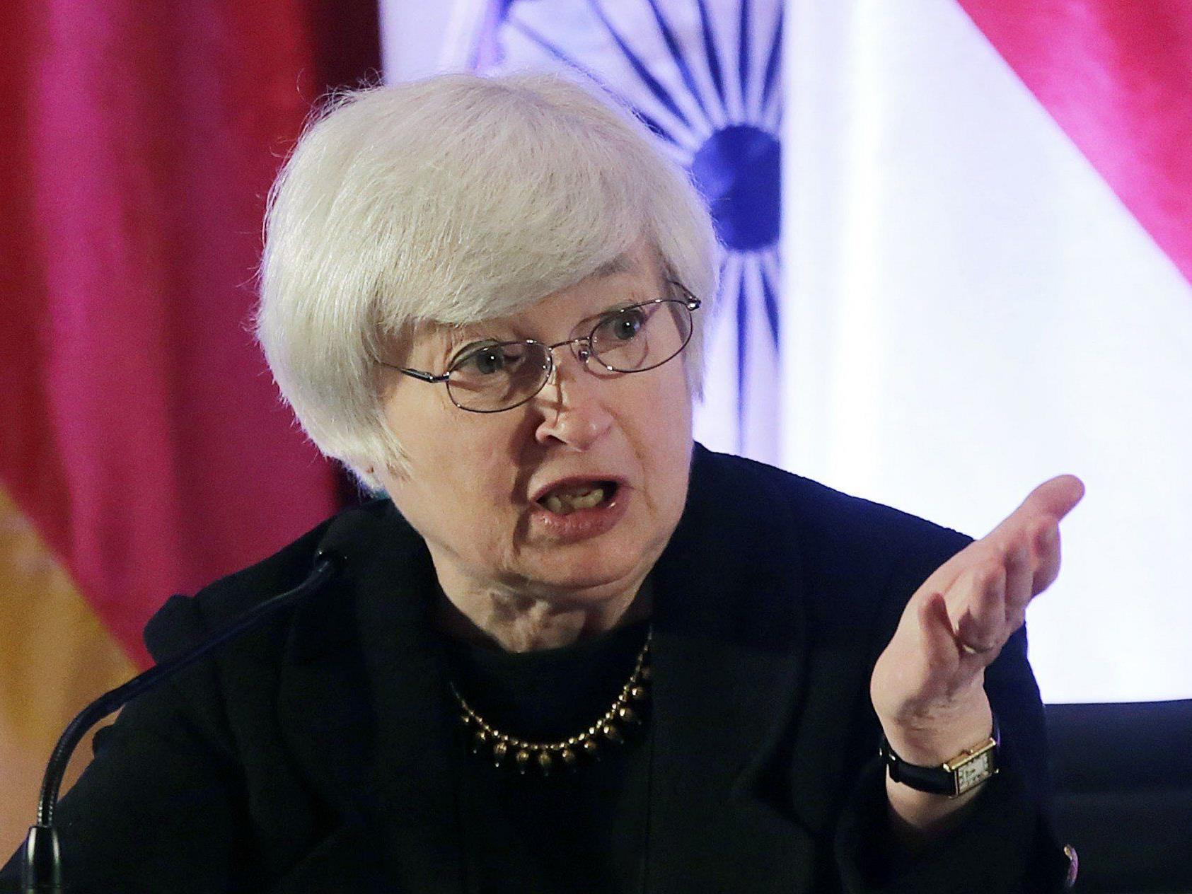 Janet Yellen hat gute Chancen demnächst an der Spitze der US-Notenbank zu sitzen.