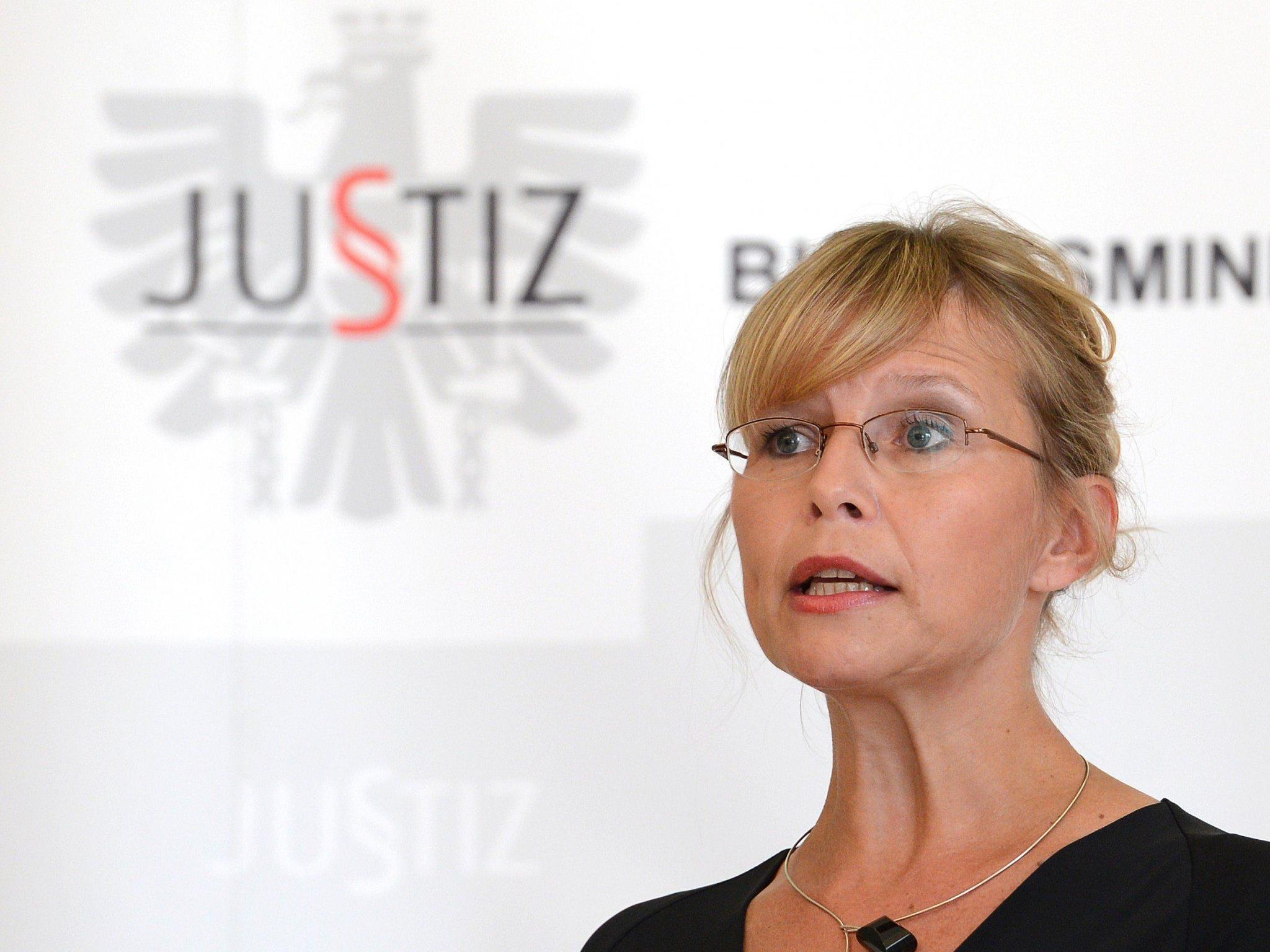 Für Justizministerin Beatrix Karl steht eine Wiedereinführung der Todesstrafe nicht zur Diskussion.