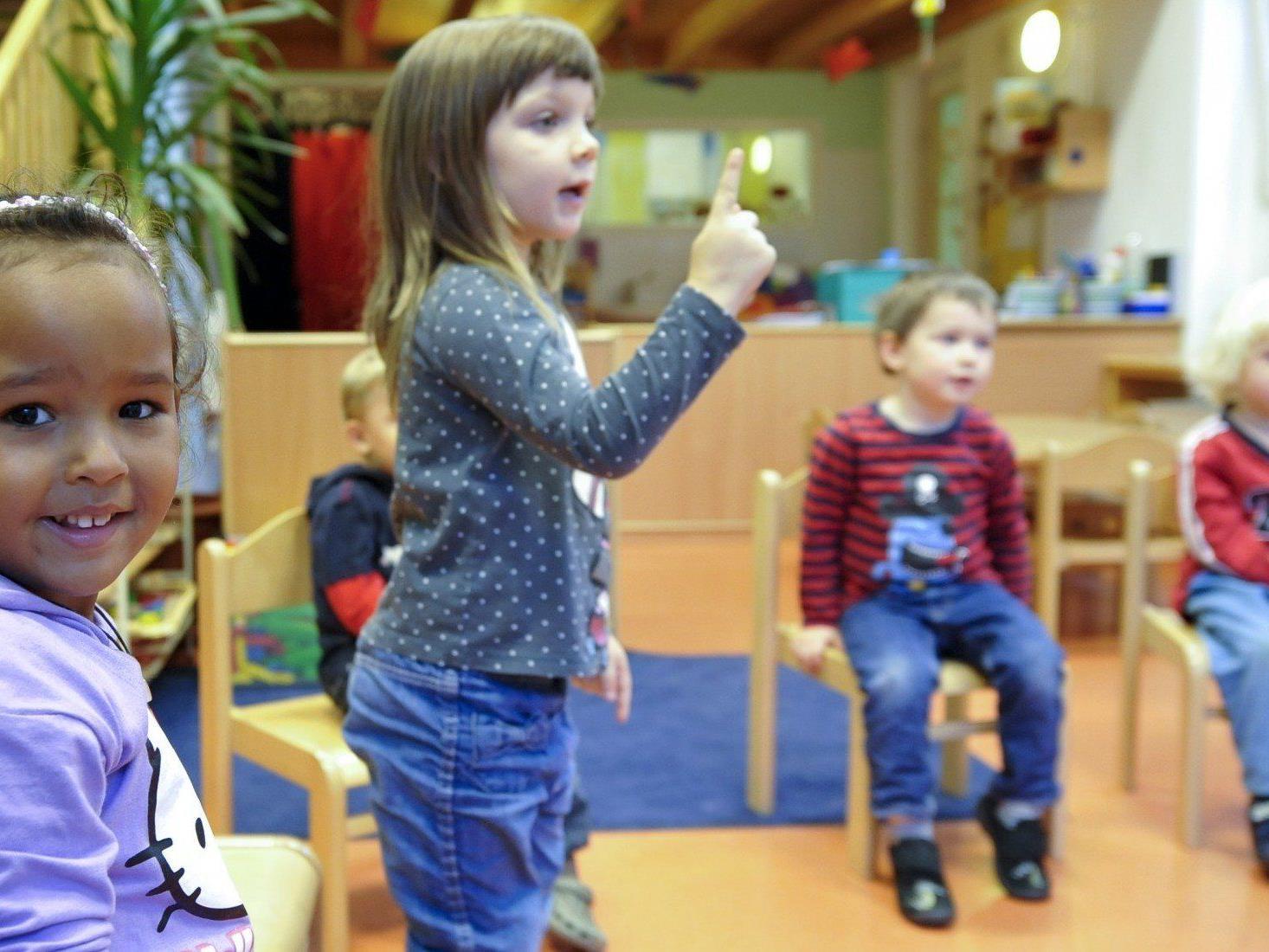 Die Kinderbetreuung ist im Wahlkampf vor der Nationalratswahl ein großes Streitthema.