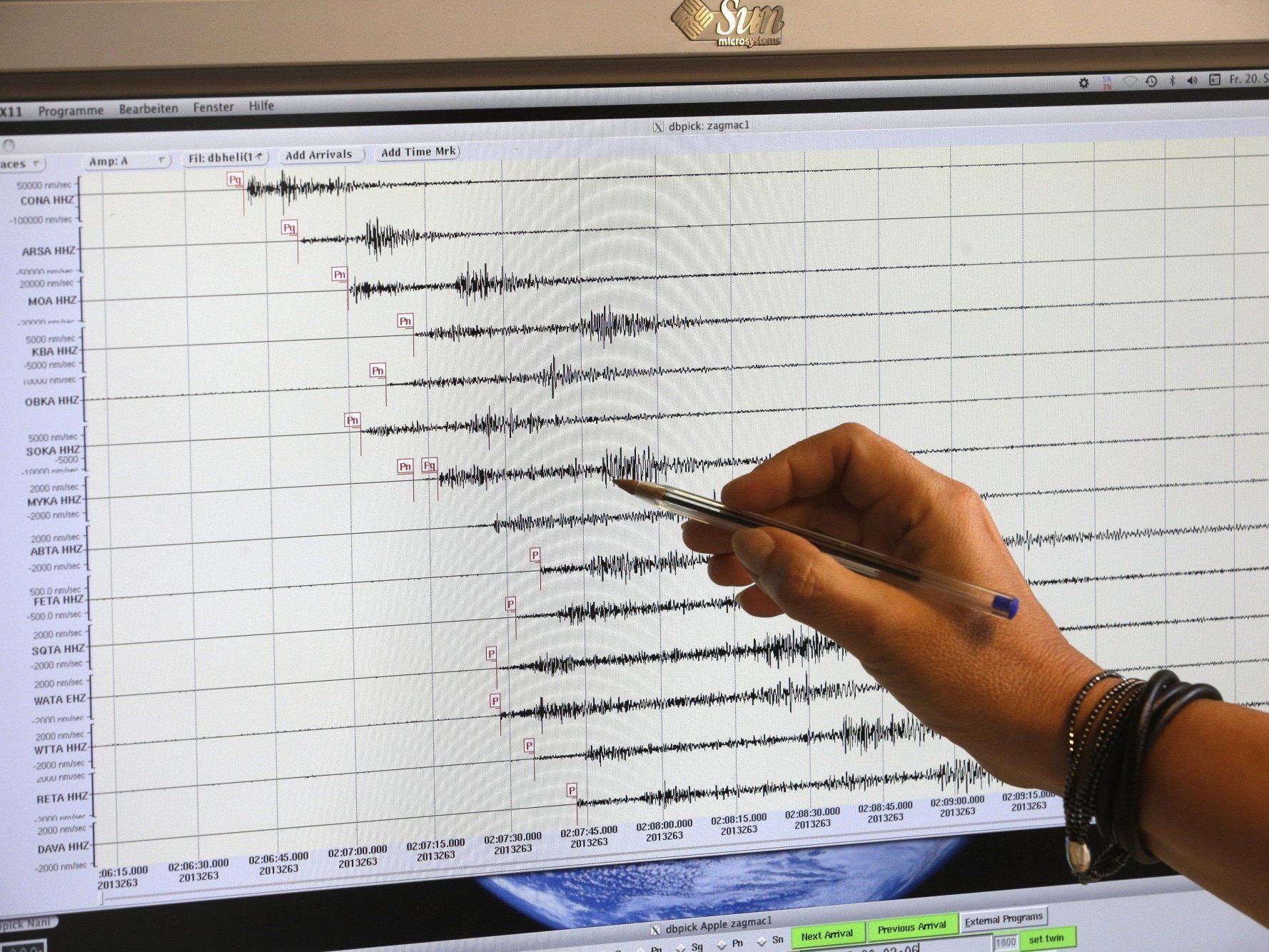 Erdbeben m Wiener Becken nicht untypisch