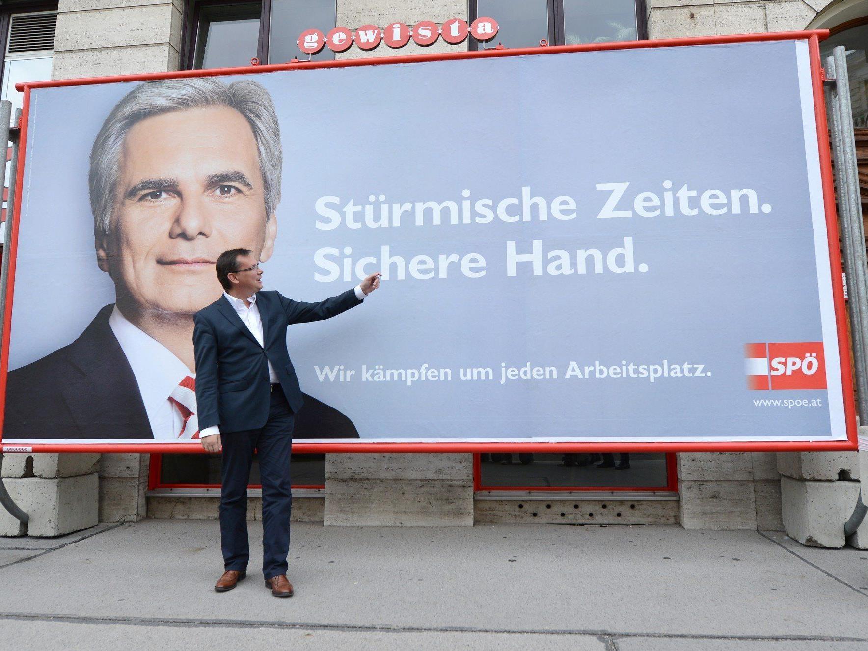 Klare Werbung für die SPÖ? - Experten sind sich nicht einig
