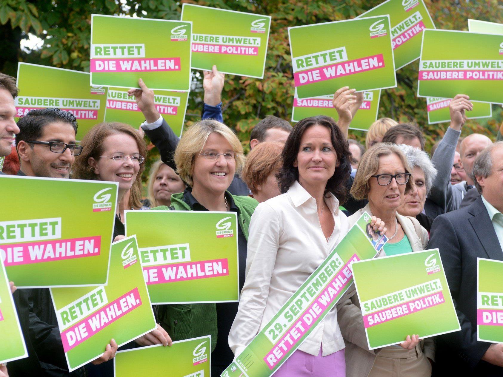 Grüne: Bisher 3,5 Mio. Euro Wahlkampfkosten