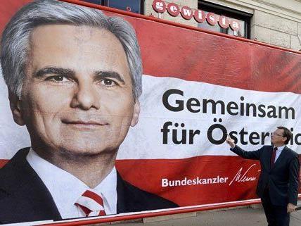 Die SPÖ präsentierte ihre dritte und letzte Plakatwelle für die NR-Wahl.