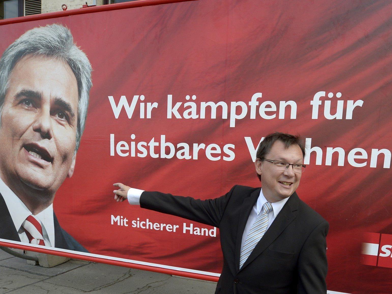 Darabos verteidigt Plakatfinanzierung durch SPÖ-Klub