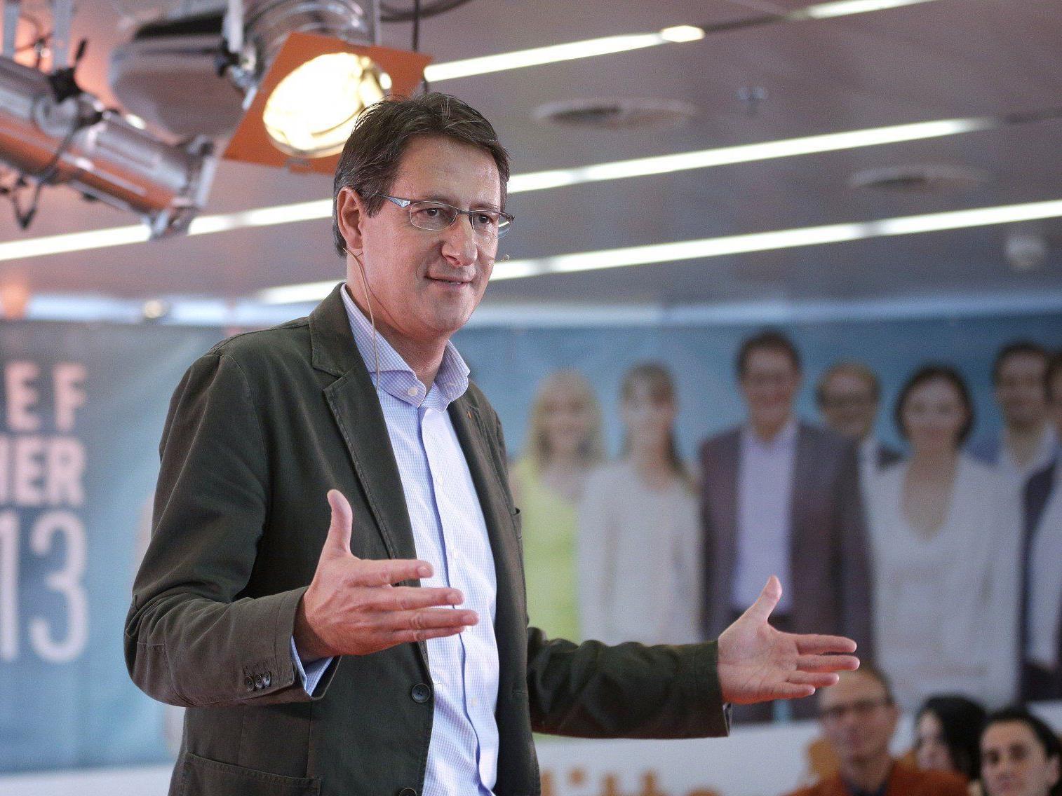 BZÖ-Obmann Josef Bucher geht zurversichtlich in die Nationalratswahl 2013.