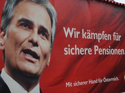 """Faymann hält Plakatfinanzierungs-Causa für """"erledigt"""""""