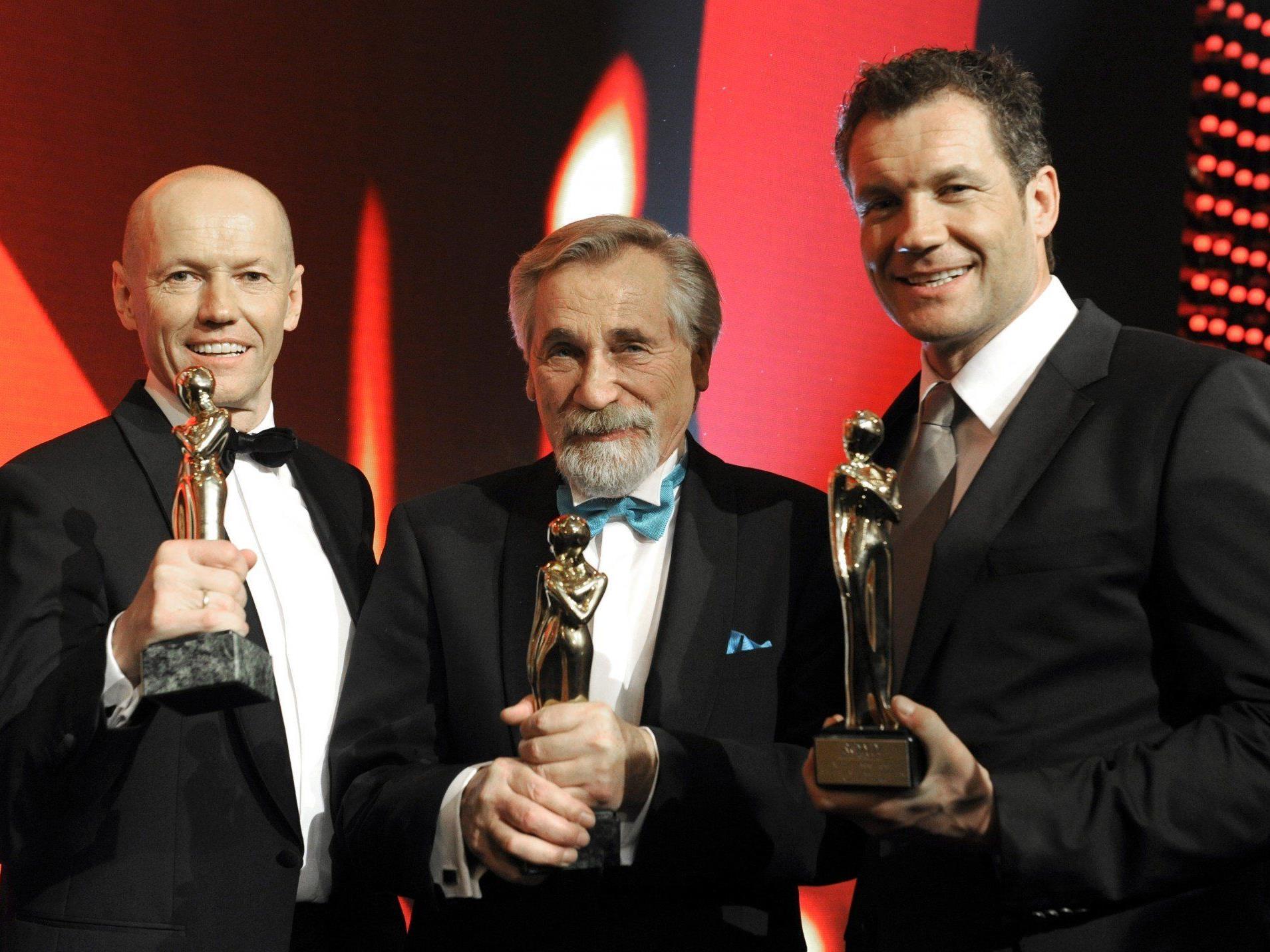 """Im April erhielt Peter Rapp die """"Romy"""" in der Kategorie """"Show"""", auch Peter Resetarits und Armin Assinger wurden ausgezeichnet."""