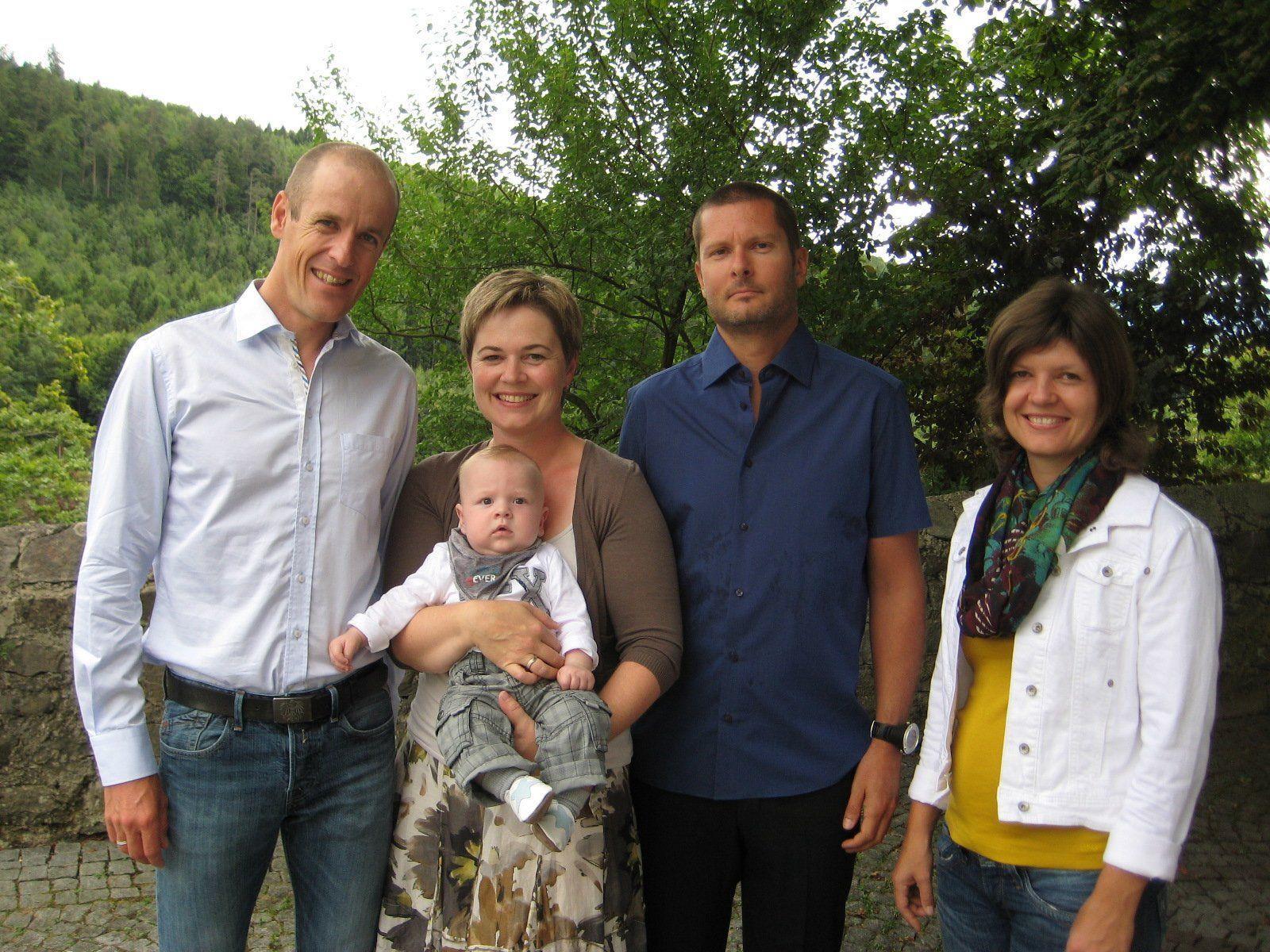 Felix Beck wurde getauft.