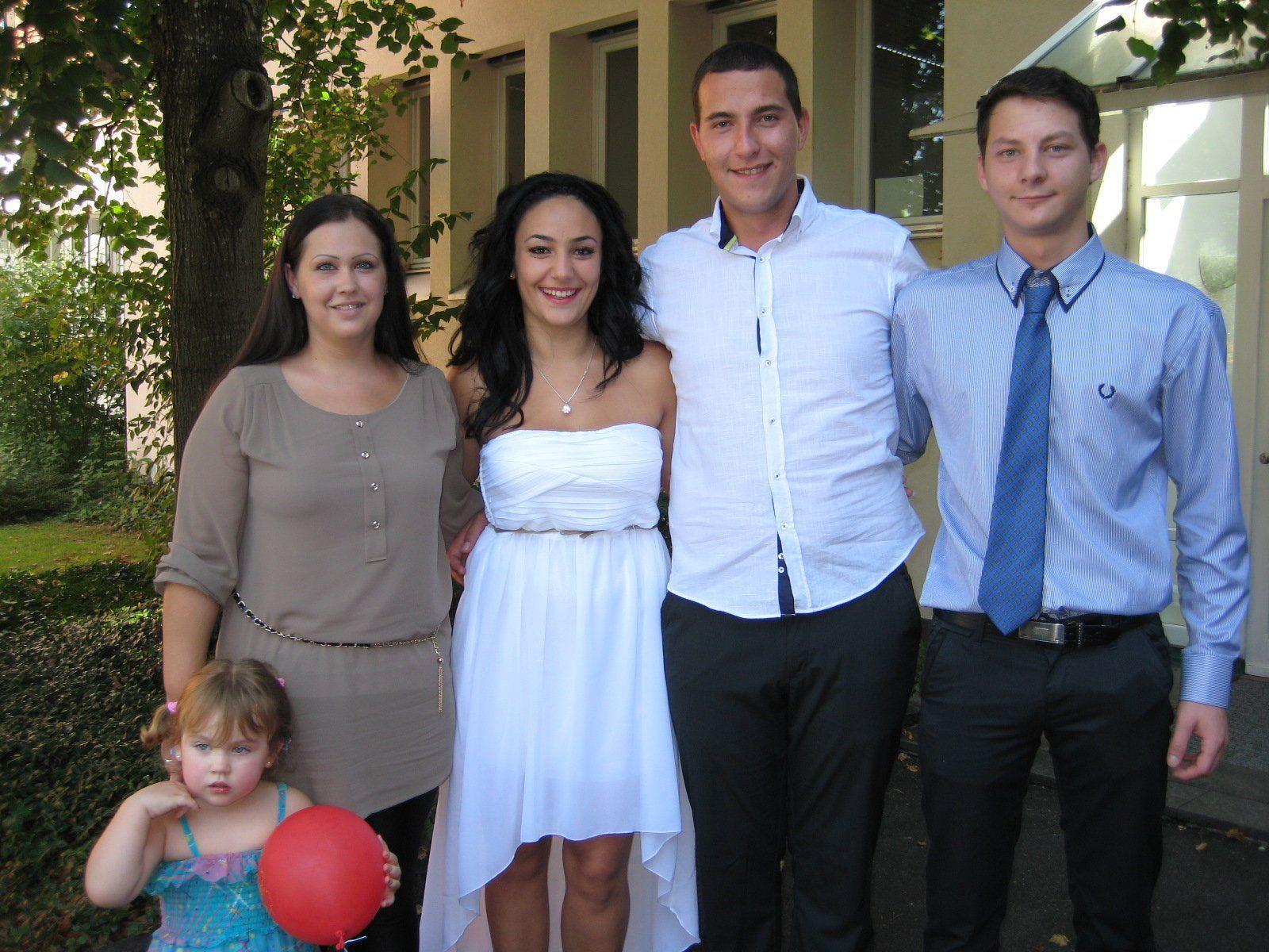 Andrijana Zekic und Petar Popovic haben geheiratet.