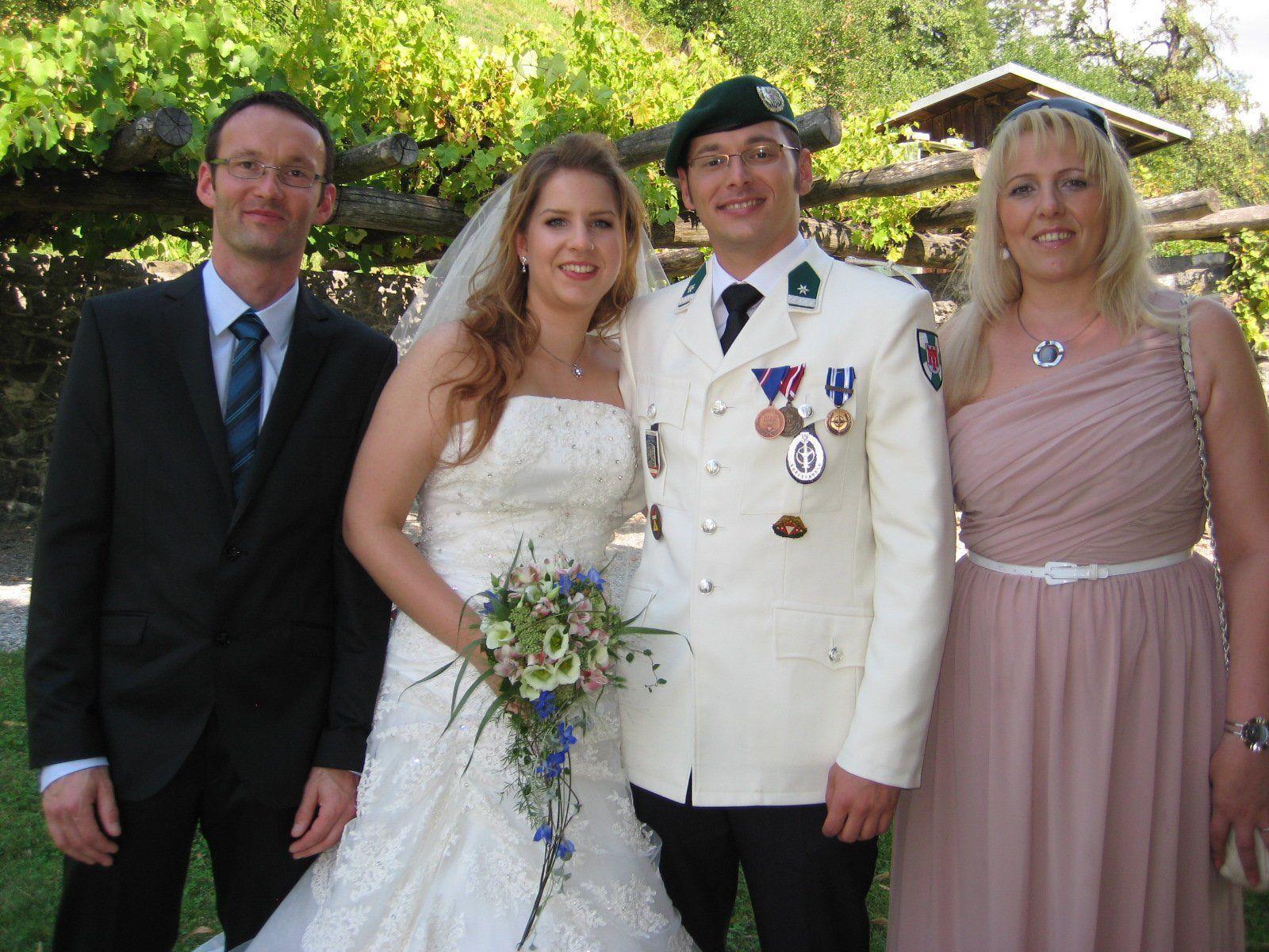 Sabine Olbert und Patrick Köstinger haben geheiratet.