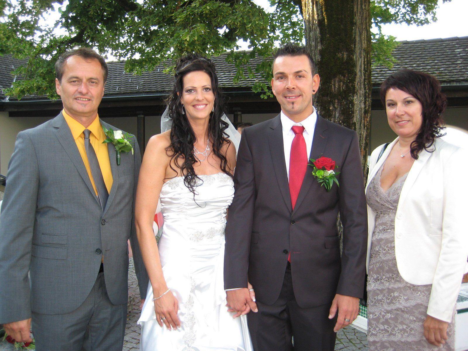 Bettina Plechata und Jürgen Brändle haben geheiratet.