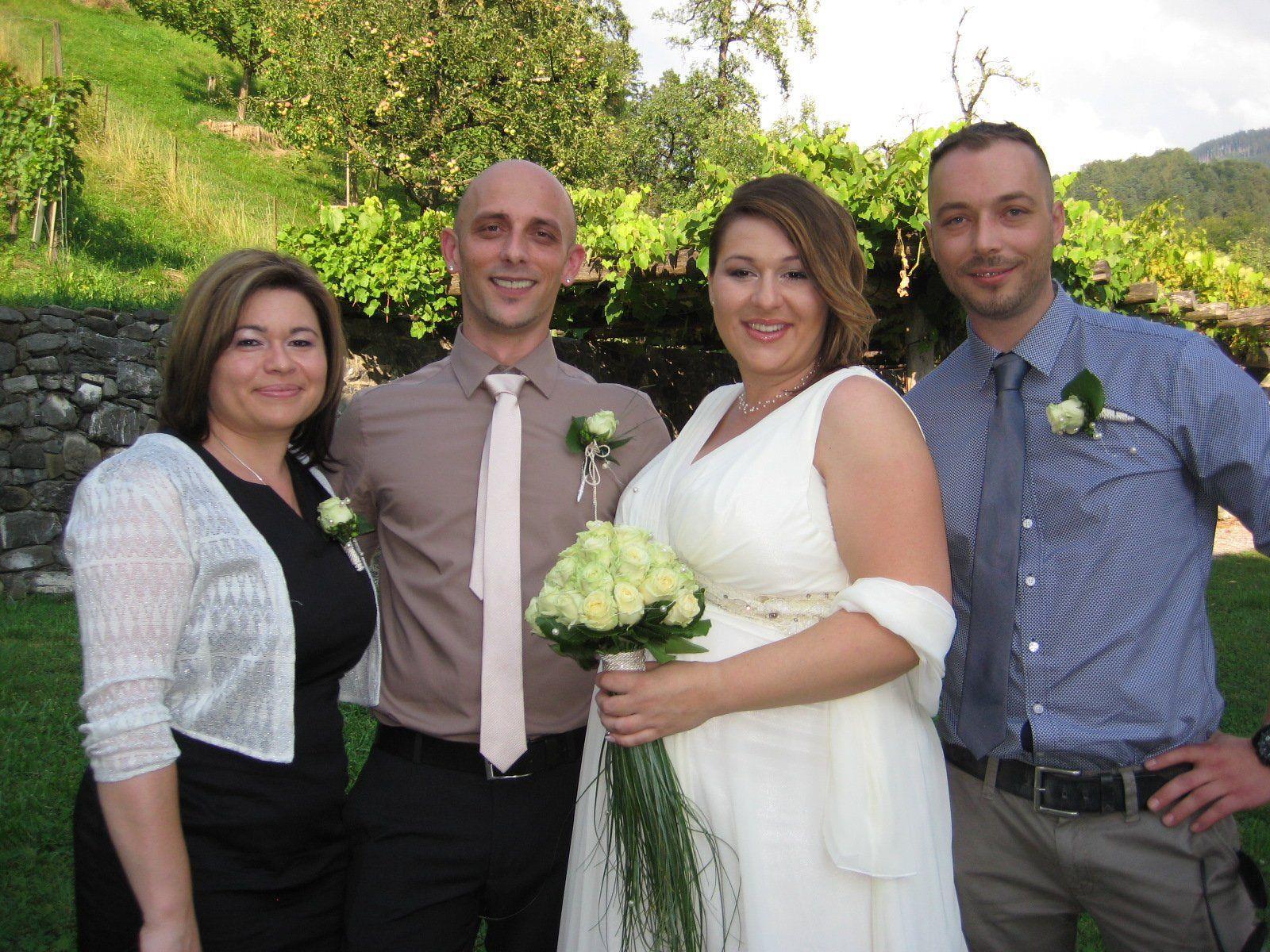 Sanela Lokvancic und Goran Milekic haben geheiratet.