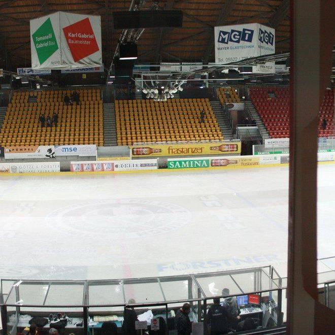 Die Eisfläche in der Vorarlberghalle ist erst ab Mitte Oktober wieder benützbar.