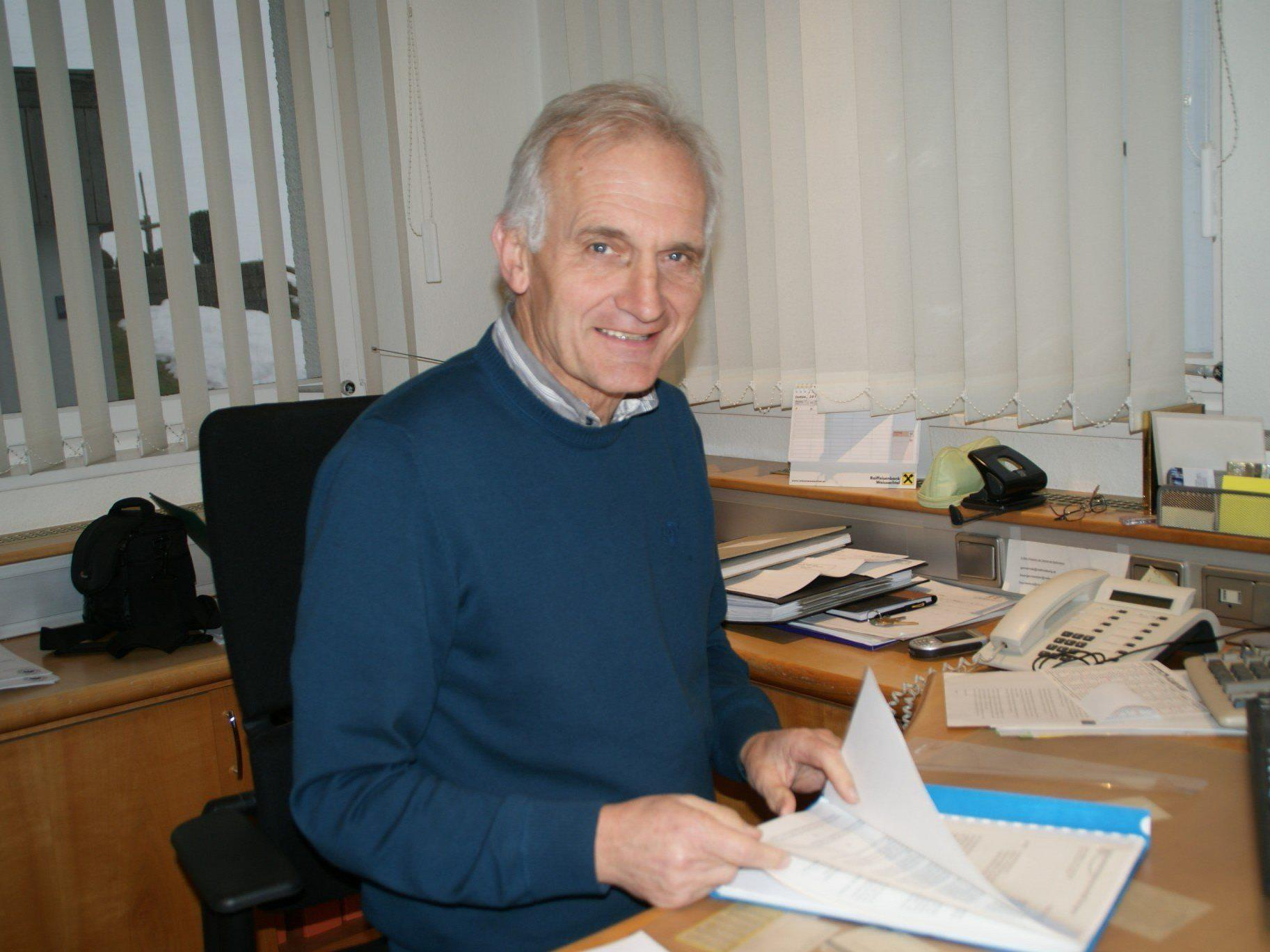Bürgermeister Herbert Dorn