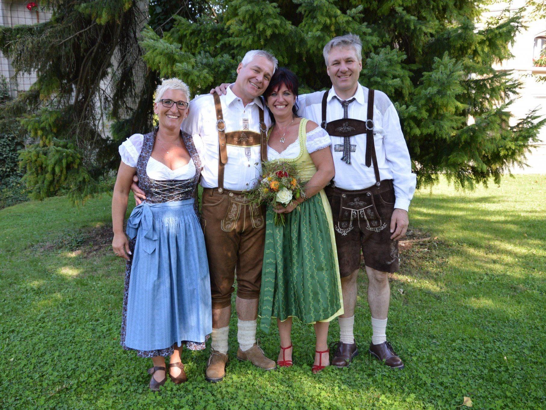 Andrea Moosmann und Gottfried Maierhofer haben geheiratet