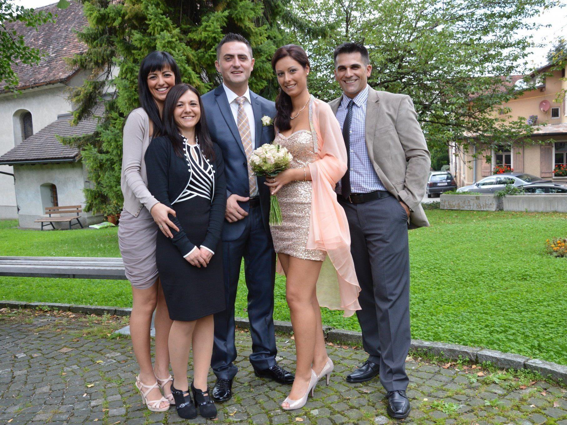 Hochzeit Von Snezana Mladenovic Und Bojan Miric Hohenems Vol At