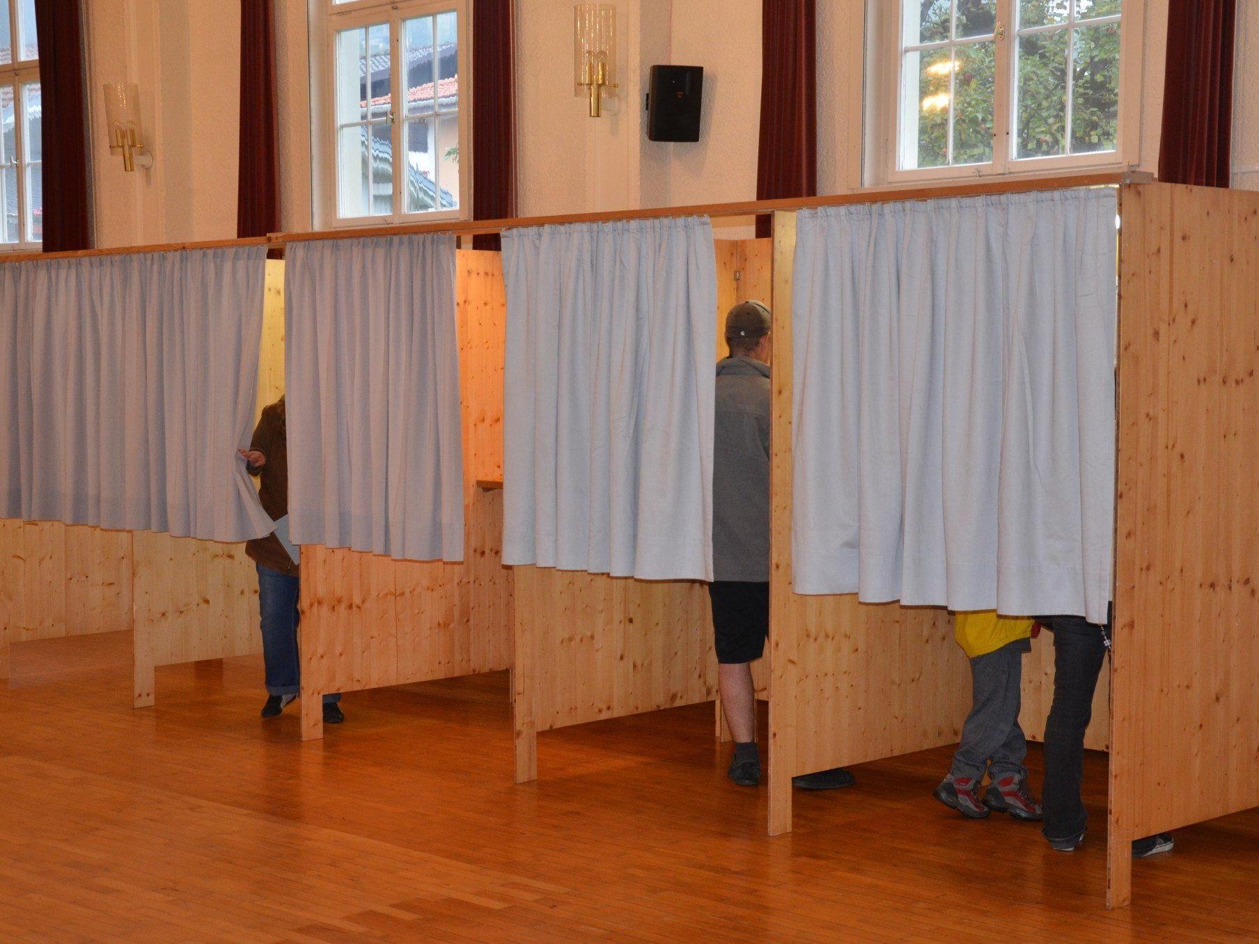 In Röthis war eine geringere Wahlbeteiligung als vor fünf Jahren.