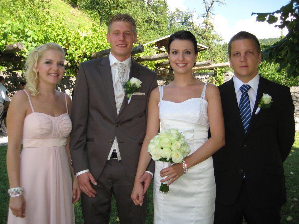 Fabienne Koch und Markus Metzler haben geheiratet.