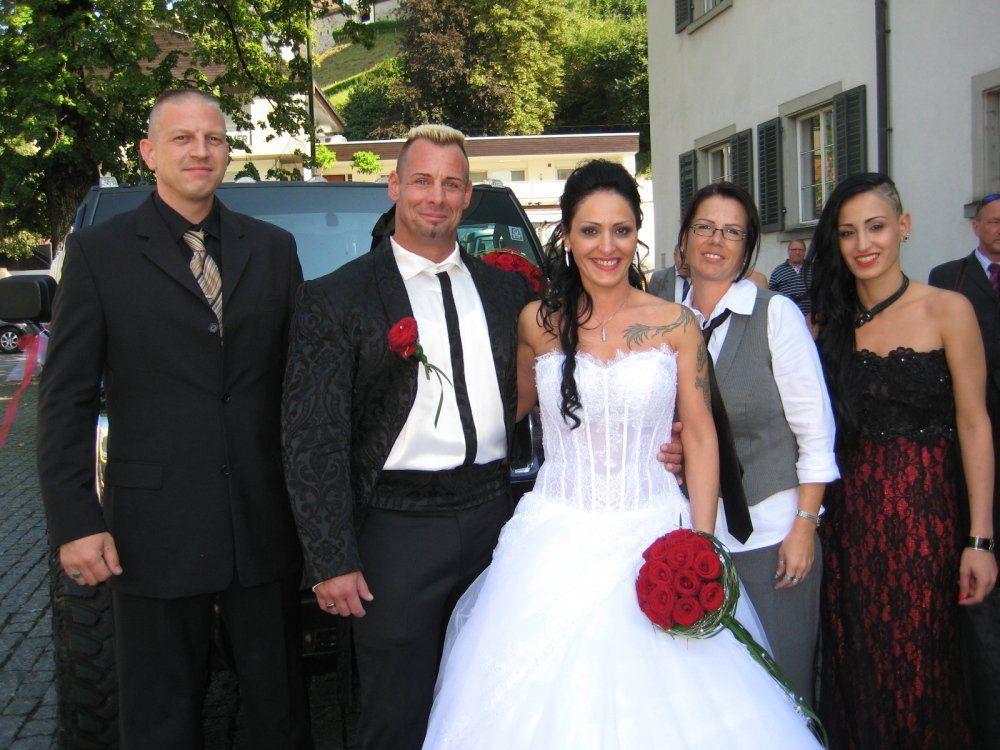 Alexa Uzunyilmaz und Uwe Theiner haben geheiratet.
