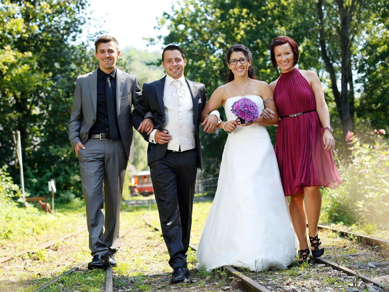 Denise Domig und Patrick Egle haben geheiratet.