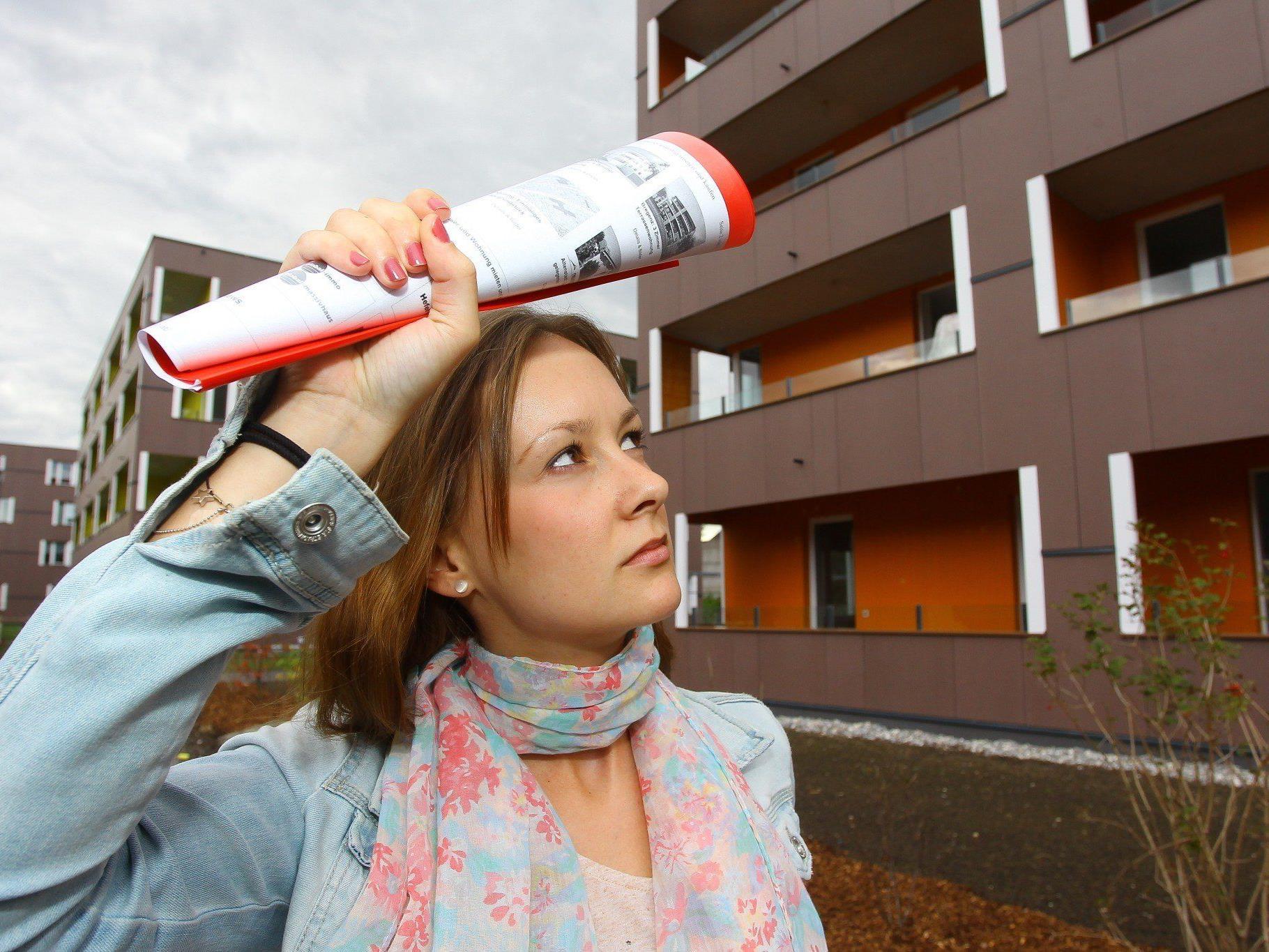 Vorarlbergs Mieter und Wohnungssuchende stöhnen unter den hohen Preisen.