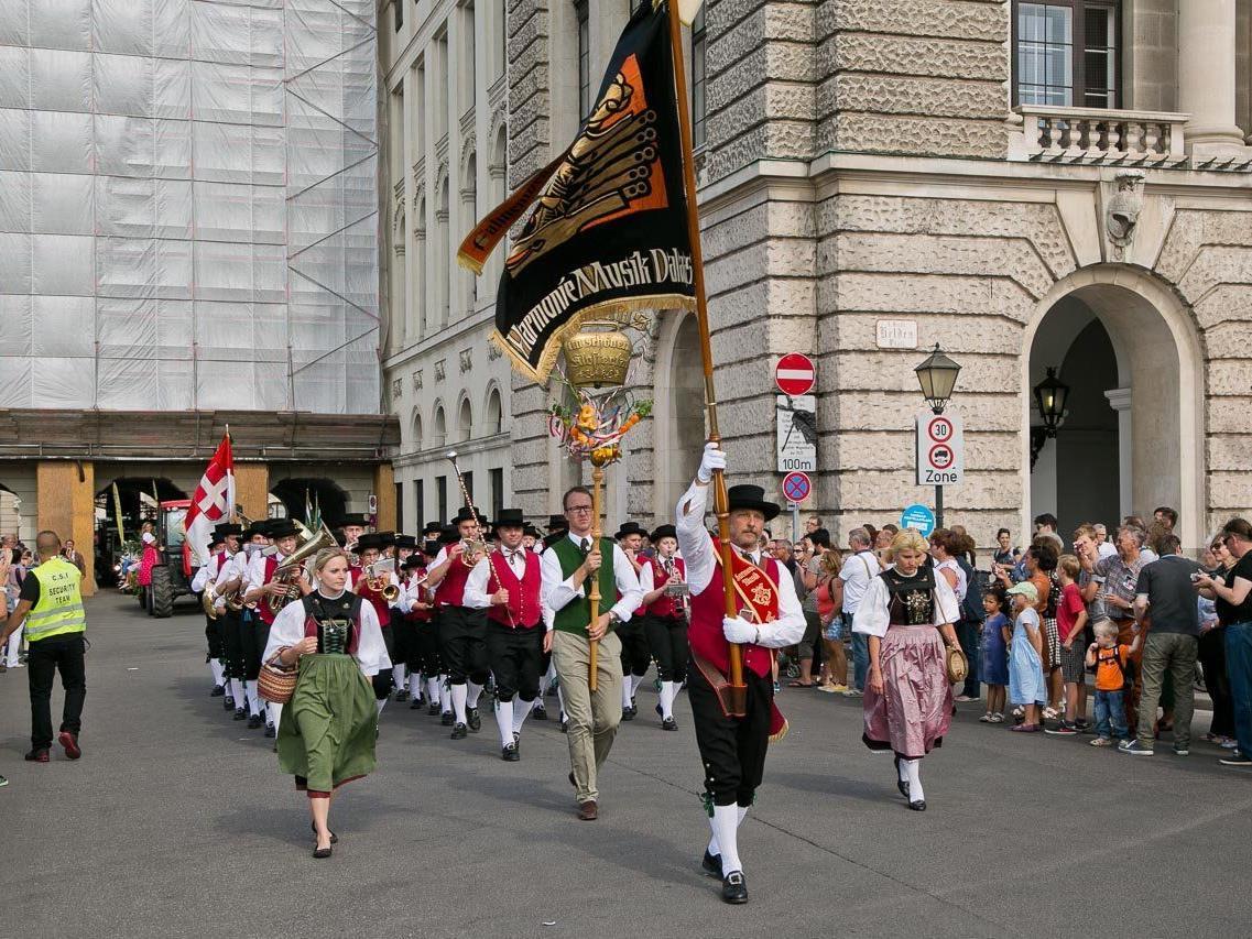 Festumzug Erntedankfest Wien