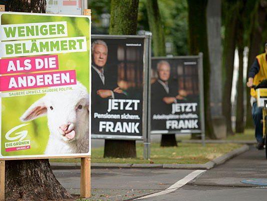 Die Grünen wehren sich gegen die anderen Parteien