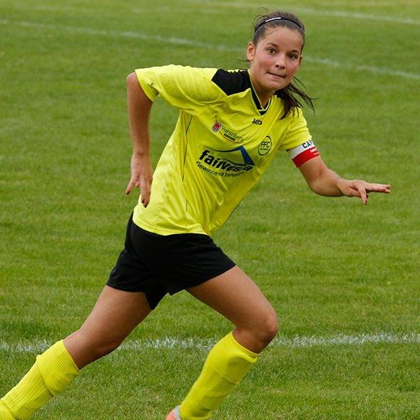 Vorderland-Kapitänin Laura Metzler konnte die Niederlage in Salzburg mit ihren Kolleginnen nicht verhindern.