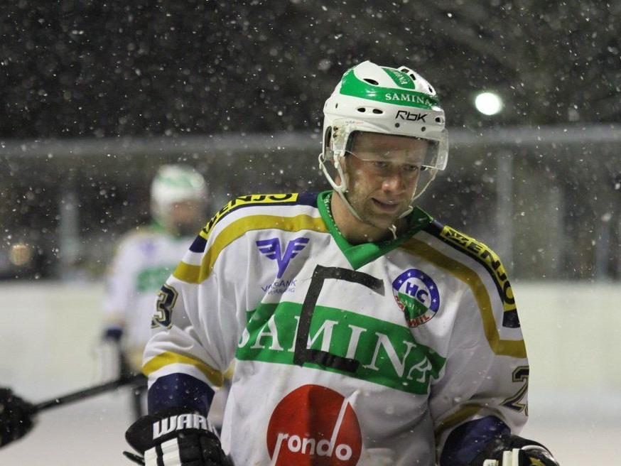 HC Samina Rankweil-Kapitän Philipp Amann wird vor dem Saisonstart mit vielen Schikanen konfrontiert.