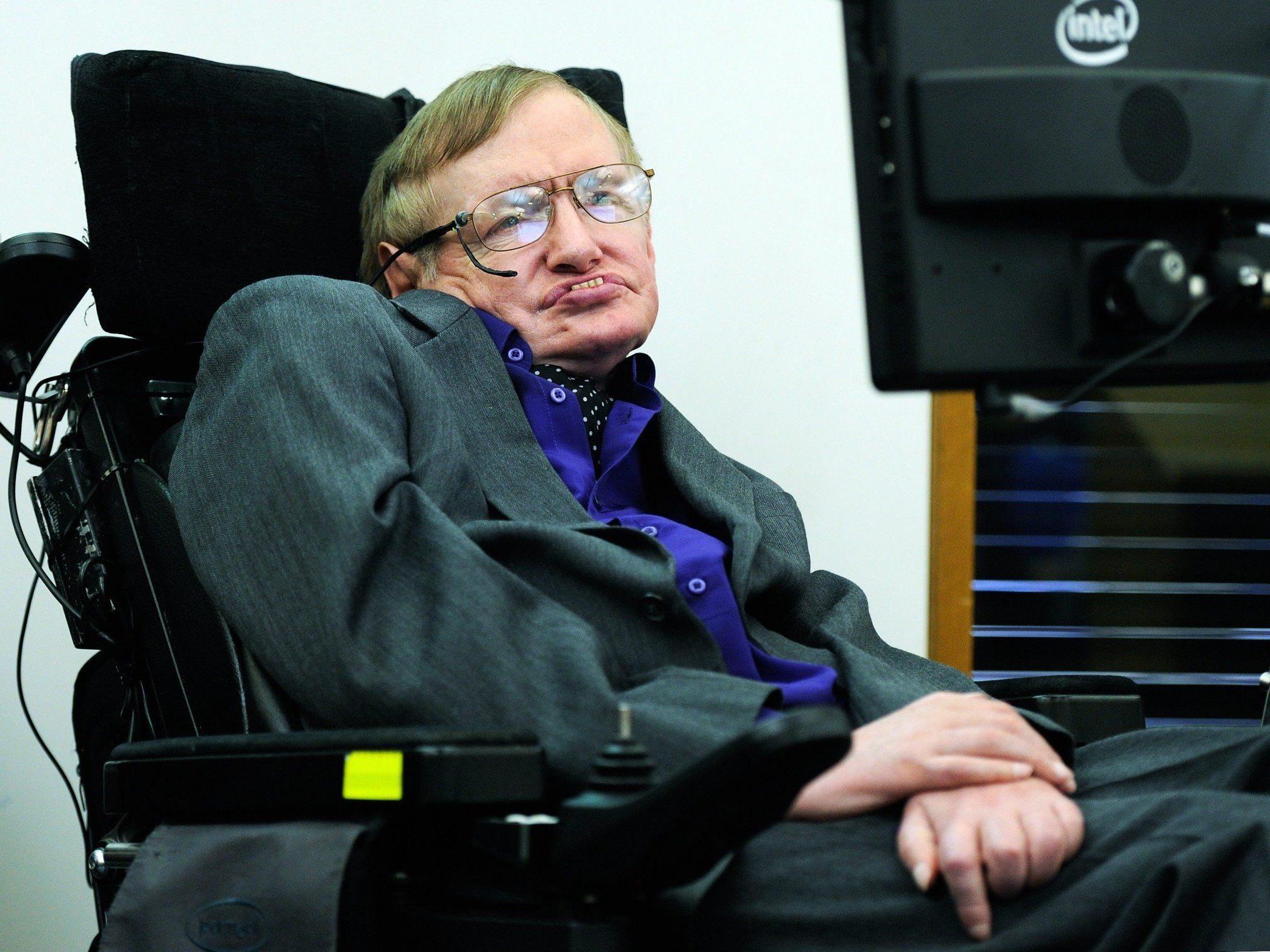 Astrophysiker Stephan Hawking hat seine Lebensgeschichte zu Papier gebracht - die Biografie erscheint am Donnerstag in Großbritannien.