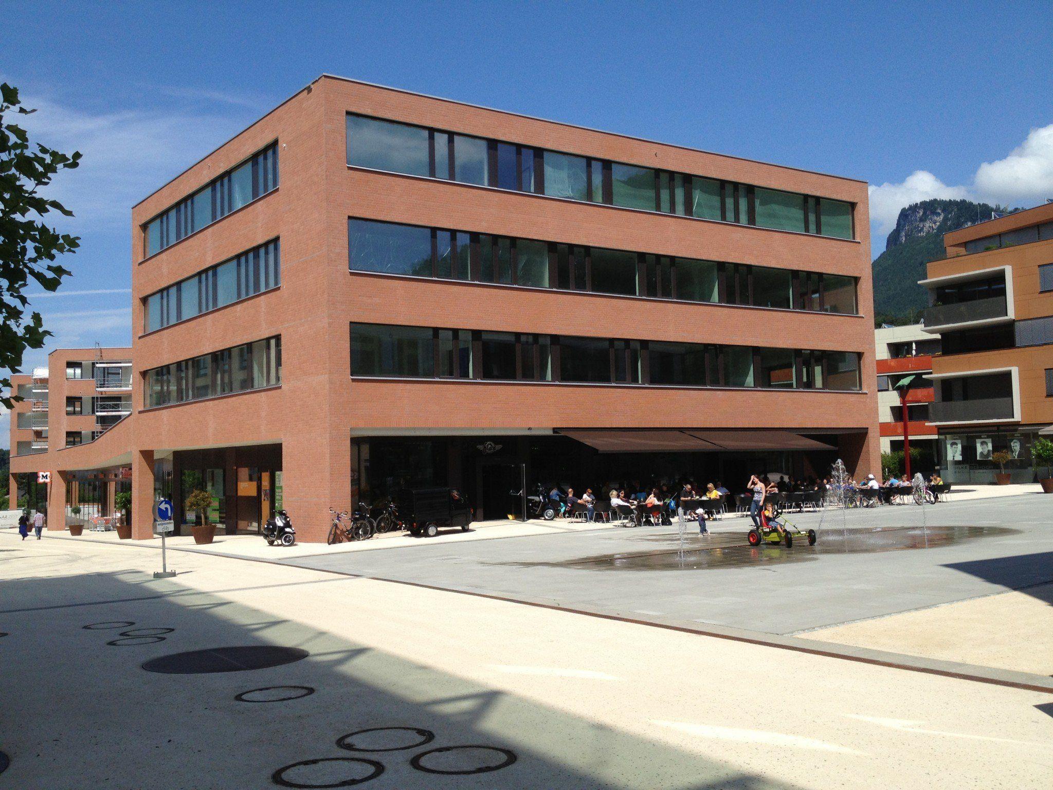 """Das neue """"Bildungshaus"""" am Garnmarkt eröffnet heute offiziell - heute und morgen findet ein Tag der offenen Tür statt."""