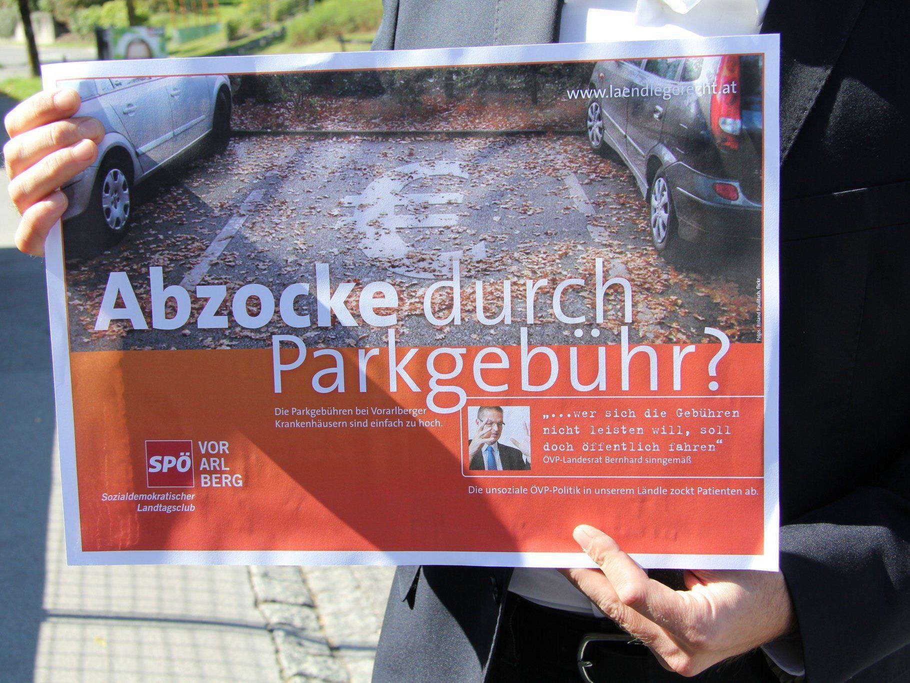 """Parkebühren: SPÖ spricht von """"Abzocke""""."""