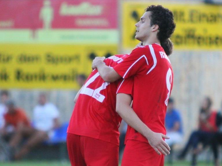Goldtorschütze Elvis Alibabic erzielte im Cupspiel in Brederis das einzige Tor für Favorit Dornbirn.