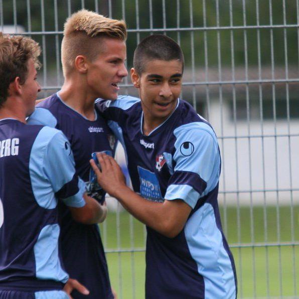 Die Unter-15-Jährigen deklassierten Rapid Wien mit 5:0 und sind nun Zweiter in der Tabelle.