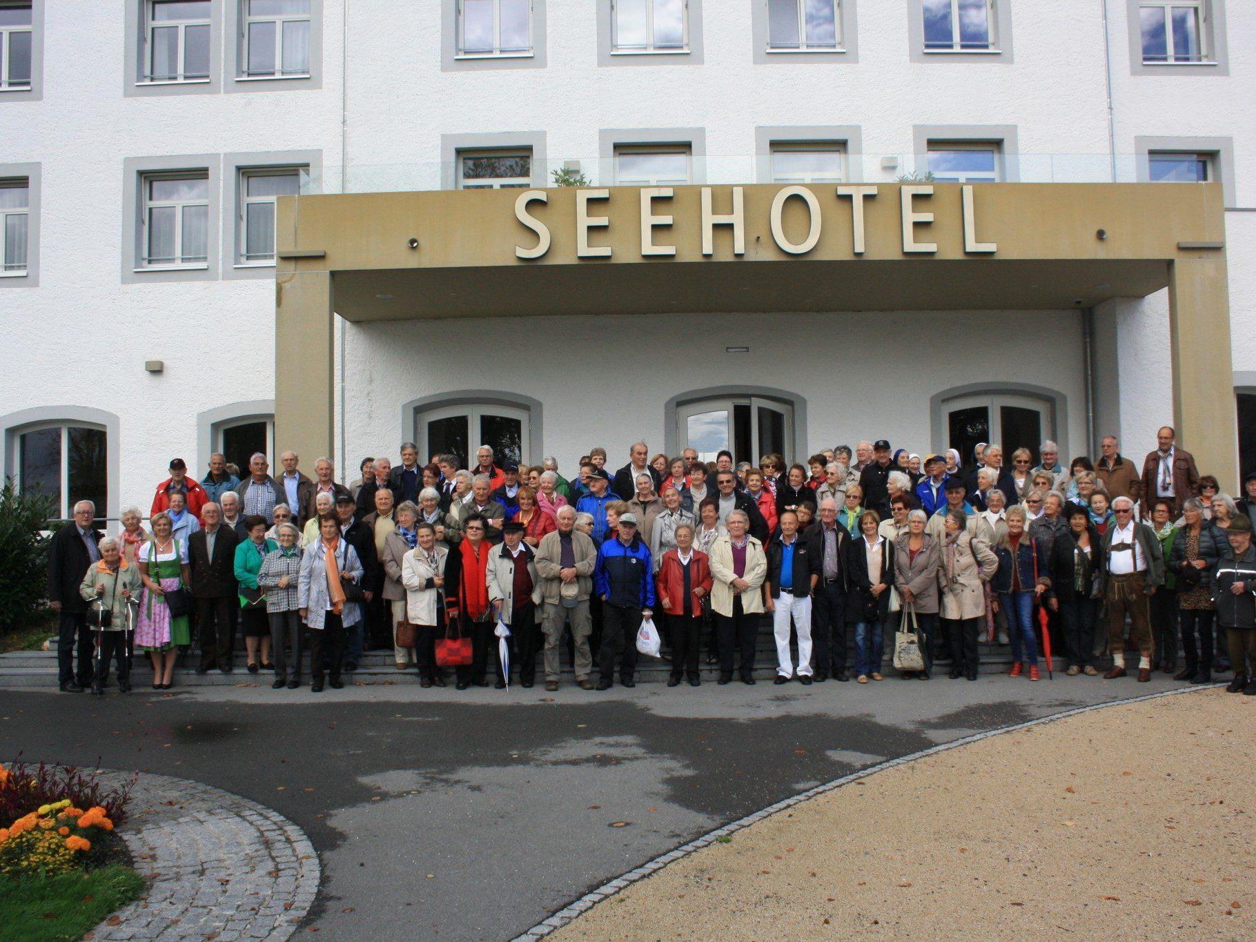 Die Gemeinde Lochau lud ihre Senioren zum alljährlichen traditionellen Ausflug.