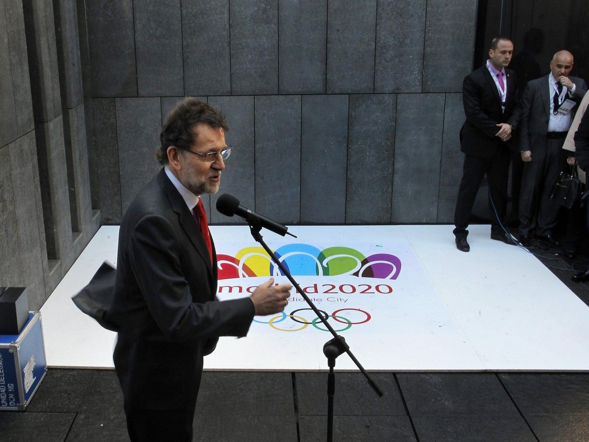 """Wirtschaftskrise zwang Spaniens Hauptstadt zu einer """"low cost""""-Bewerbung."""