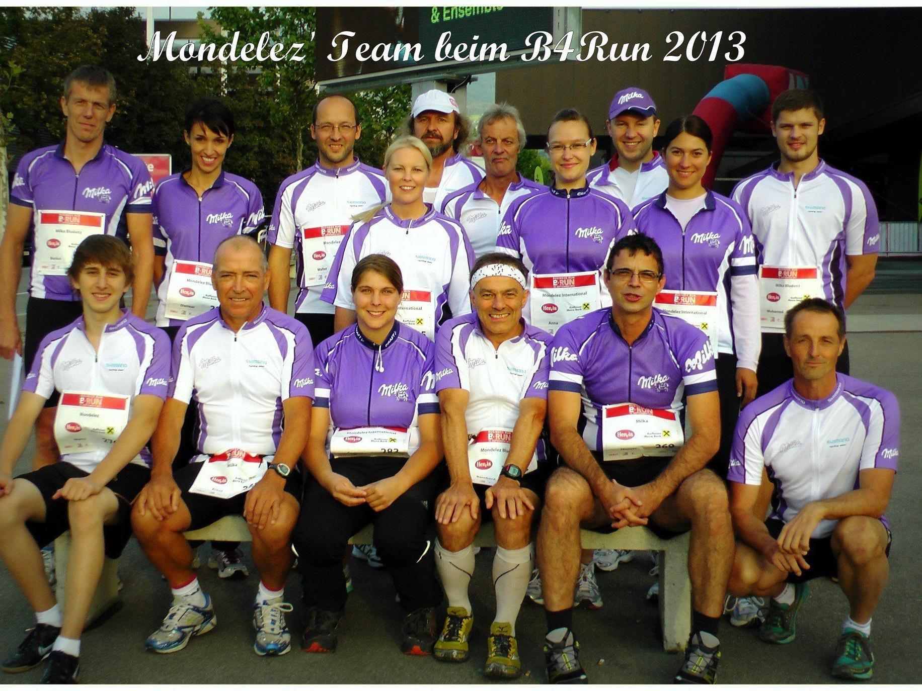 Die Mondelez Laufgruppe überzeugte auch dieses Jahr durch ihre Fitness!
