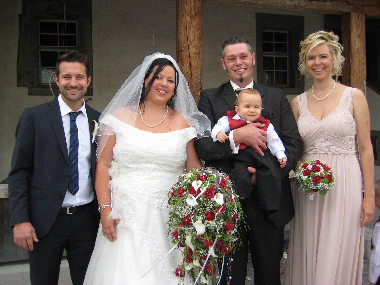 Nadine Ströhle und Mario Hörfarter haben geheiratet.