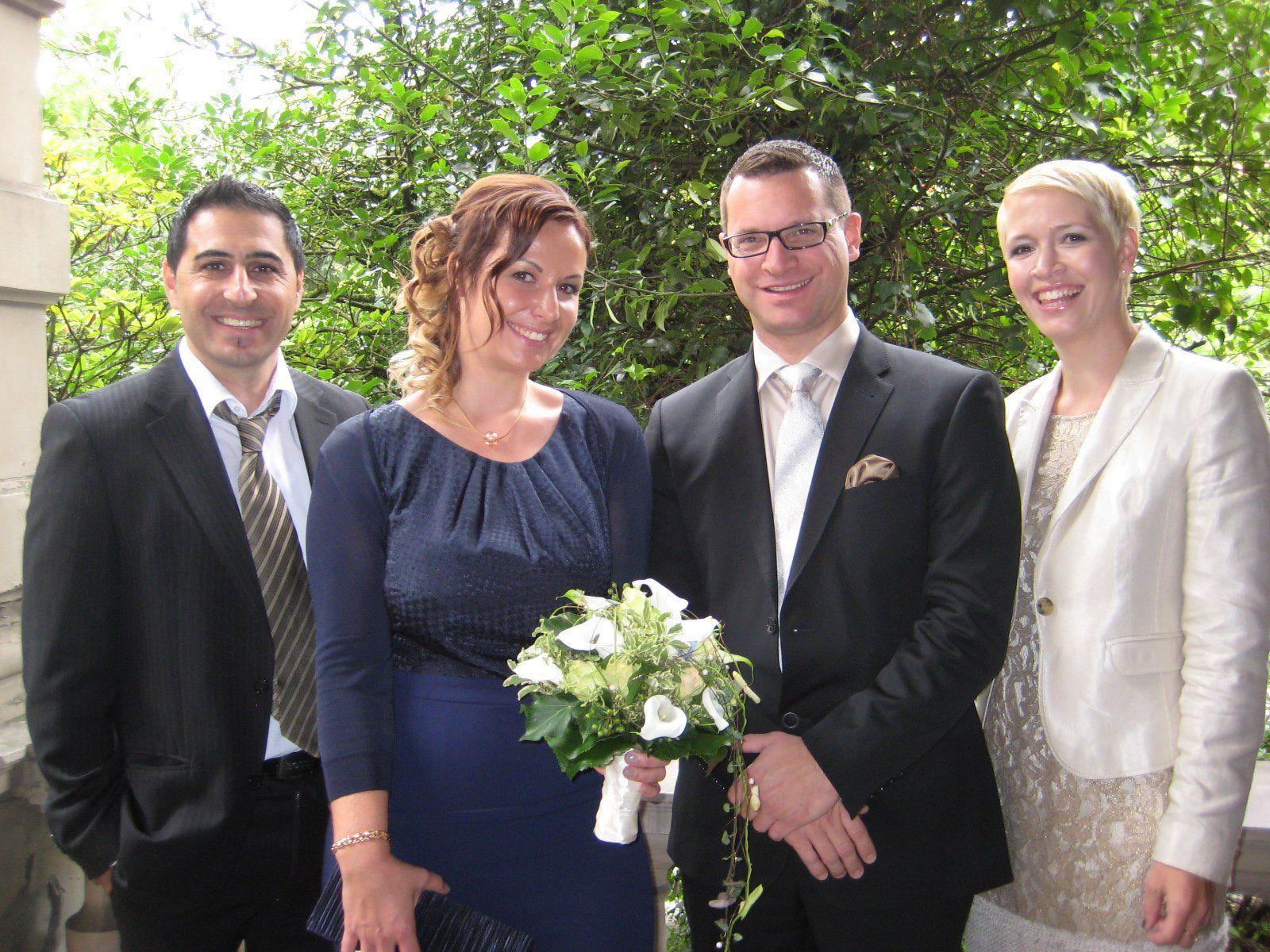 Cathrin Fröwis und Alexander Fend haben geheiratet.