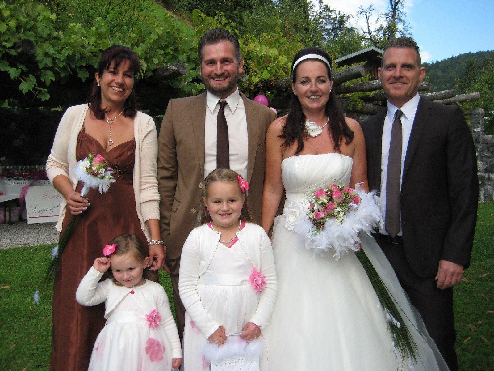 Sonja Huber und Daniel Hasberger haben geheiratet.