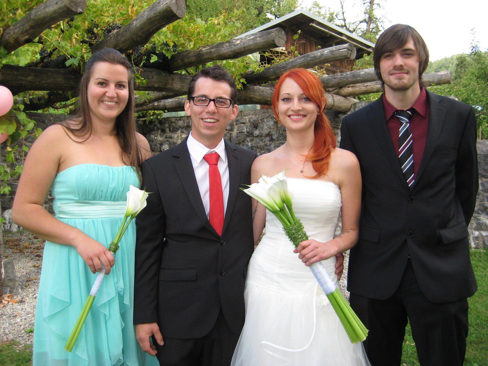 Nadine Giesinger und Andreas Mannsberger haben geheiratet.