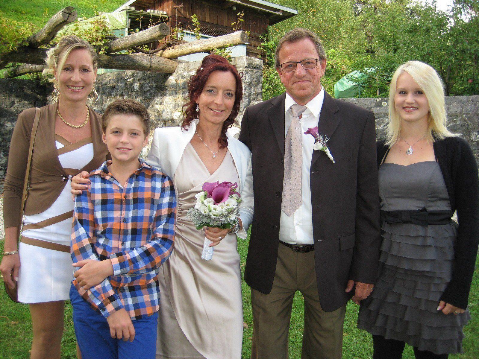 Margit Neier und Hermann Hager haben geheiratet.