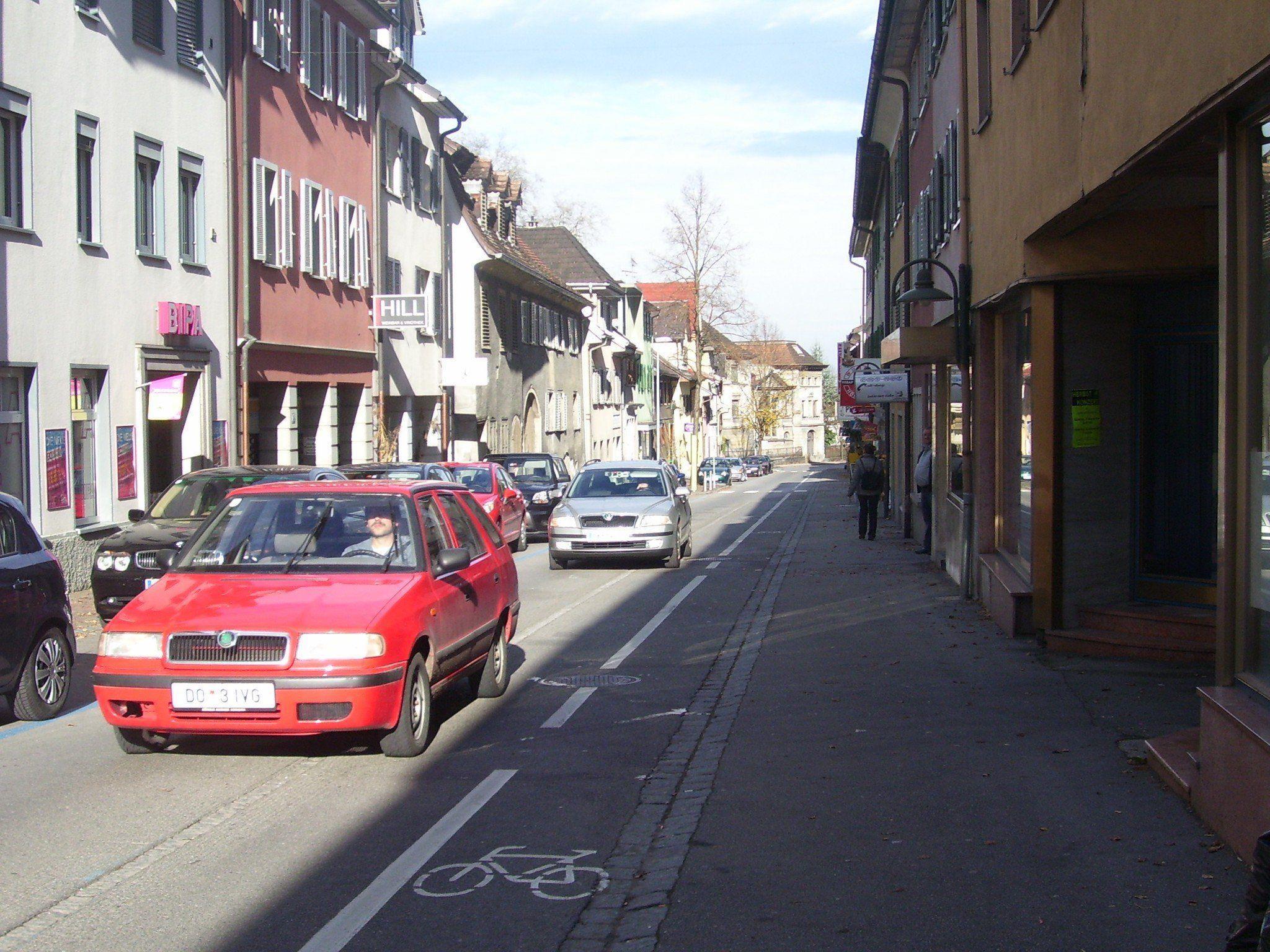 Am neuen Verkehrskonzept Hohenems wird im Bürgerforum noch einiges bemängelt.