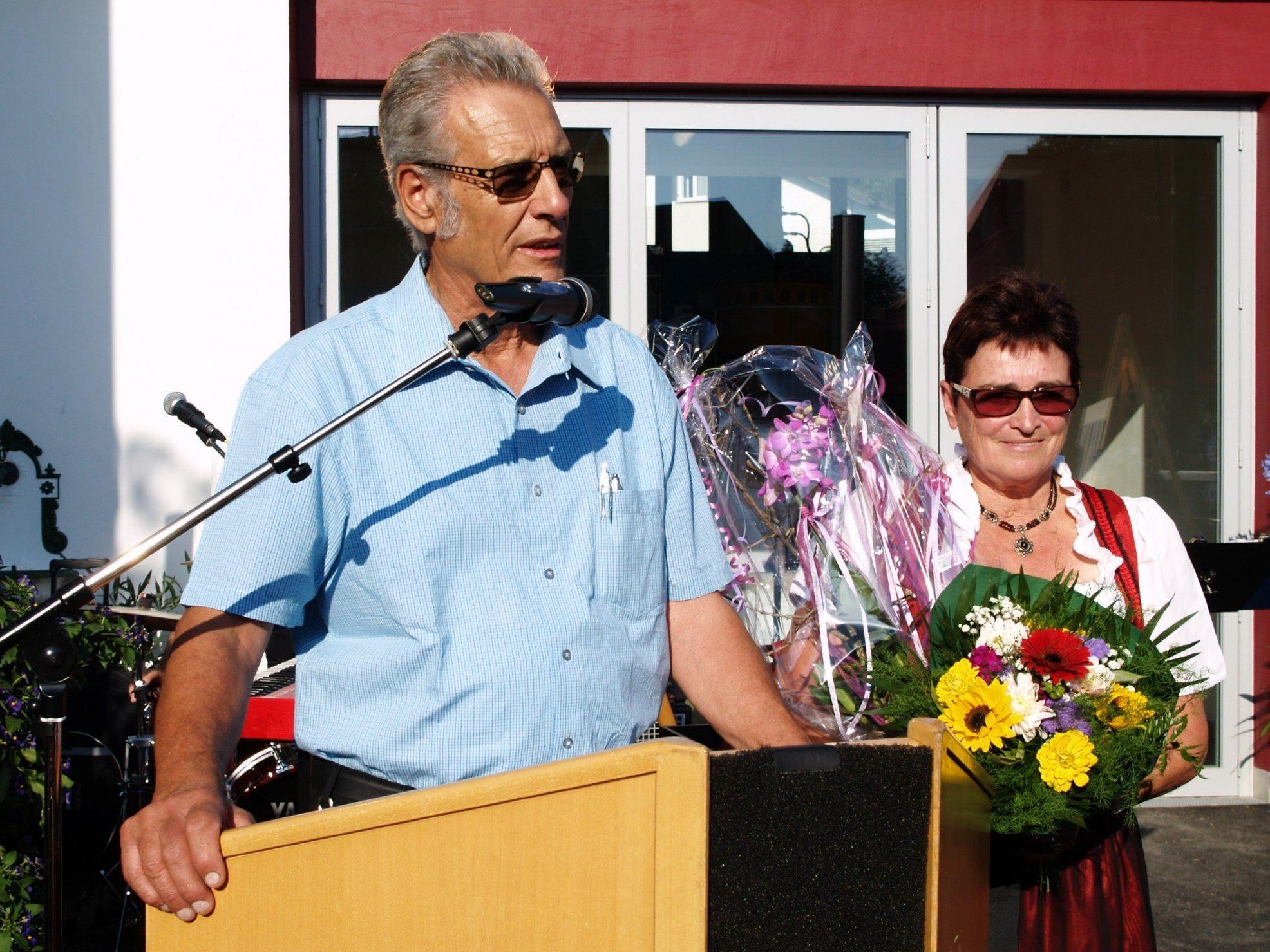 Zur Neueröffnung der Kleboth-Mühle konnten Berta und Oswald Tschugmell zahlreiche Gäste begrüßen.