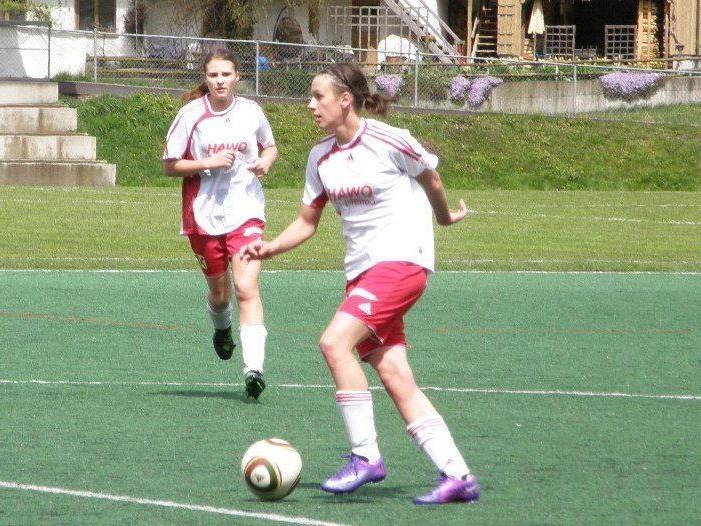 Marika Rietzler erzielte beide Treffer beim Mellauer Derbysieg.