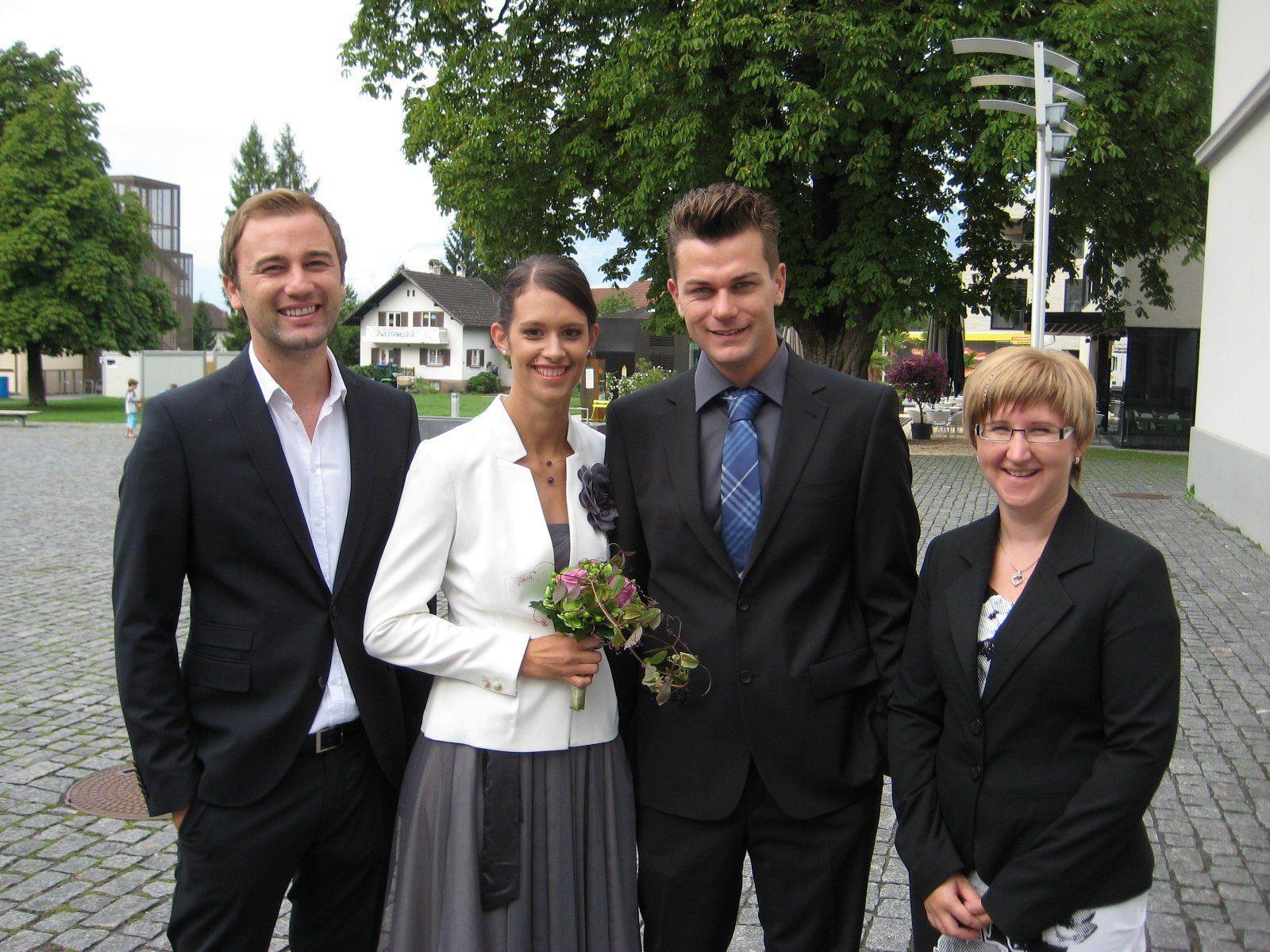 Claudia Schneider und Dejan Riba haben geheiratet.
