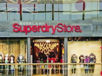 big sale 501e2 d4f99 Label Superdry eröffnet Store im Wiener Donau Zentrum ...